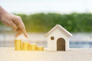 家とコイン